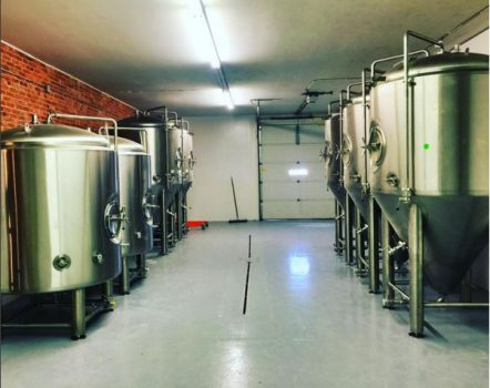Slot Drain Installed in Prairie Pride Brewery
