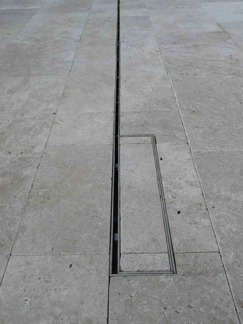 Beautiful drains for landscaping and residential applications for Outdoor ground drains