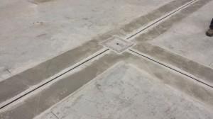Slot Drain in Concrete Floor