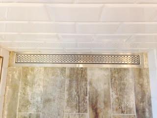 Slot Drain in Shower