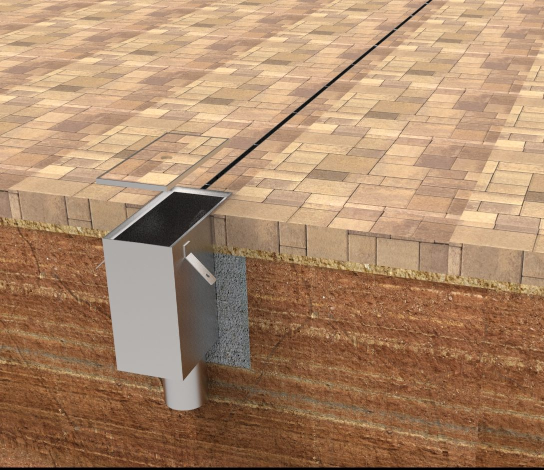 Patio drainage systems outdoor goods for Drainage system