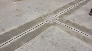 Slot Drain In Concrete Floor